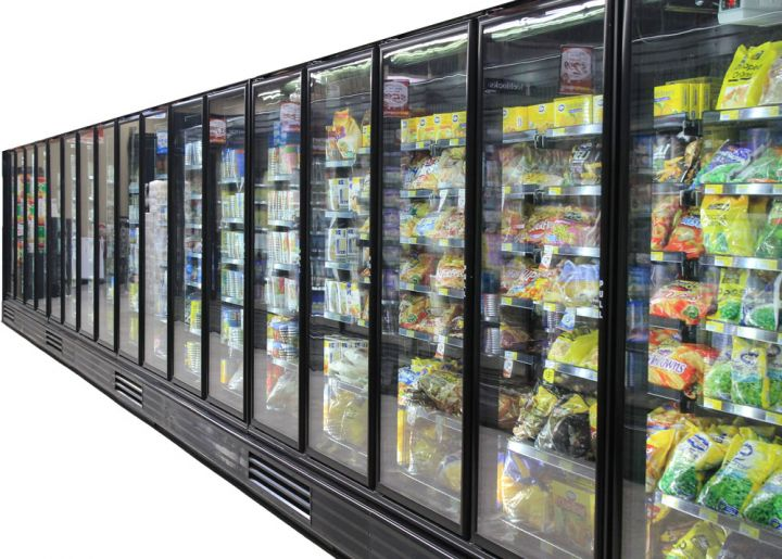 Maslen Self-Contained Refrigerated Supermarket Case