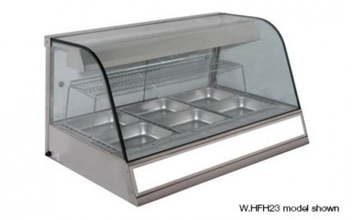 Woodson W.HFH23  3 bay Heated Chicken Display
