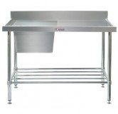 Simply Stainless 05.7.1200 Sink Bench with splash back