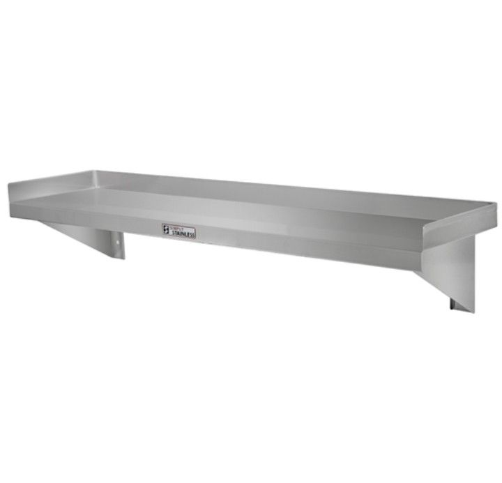 Simply Stainless 10-1200 Wall Shelf