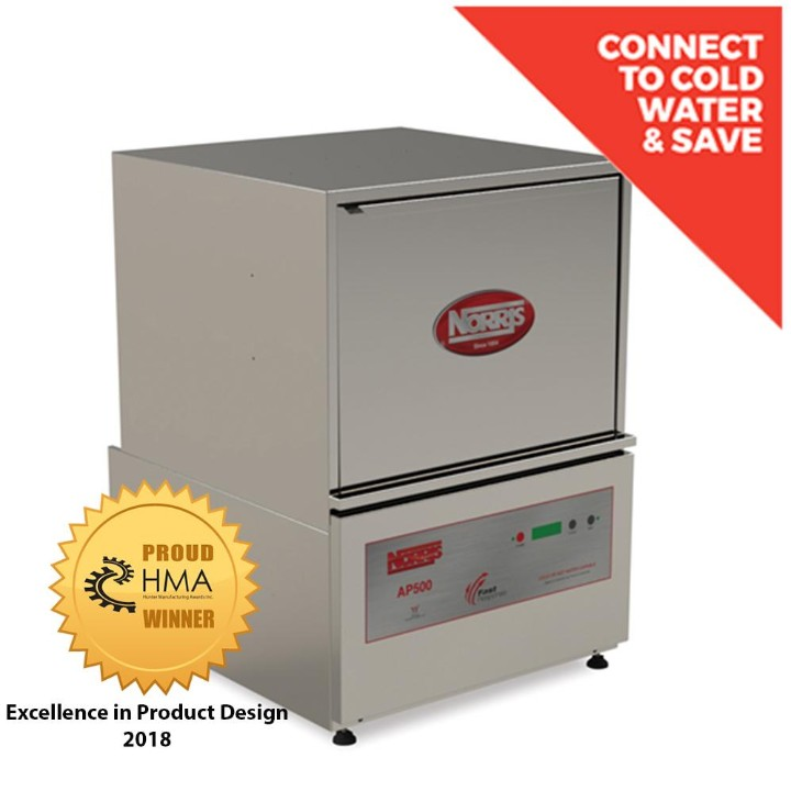Norris Ap2500 Commercial Upright Dishwasher